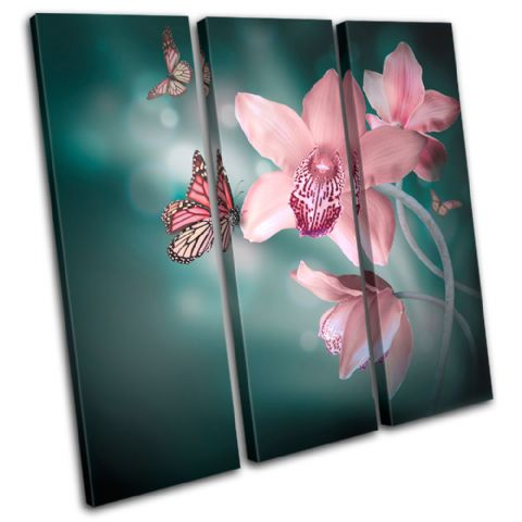 Orchids Butterfly Floral - 13-0643(00B)-TR11-LO
